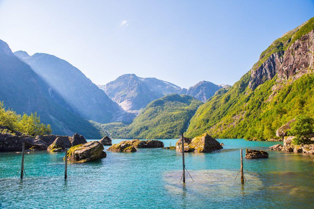 Bondhusvatnet, Norway