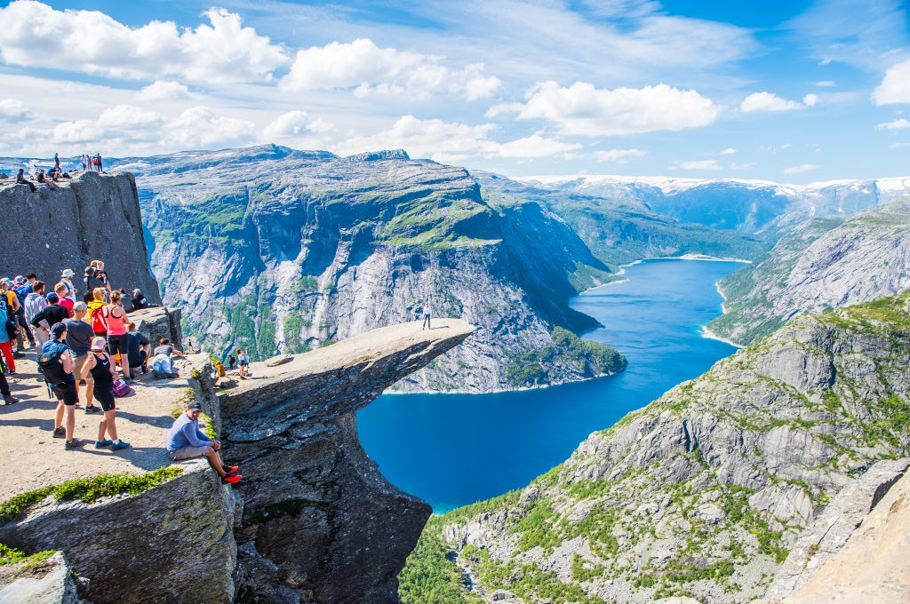 The Trolltunga Hike, Norway
