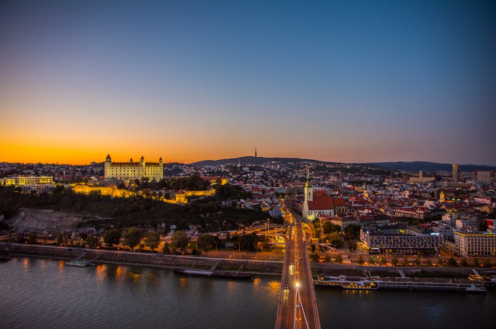 Bratislava, the capital of Slovakia