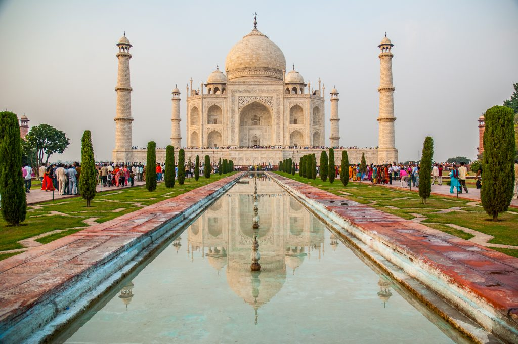 Taj Mahal – One of the new wonders of the world